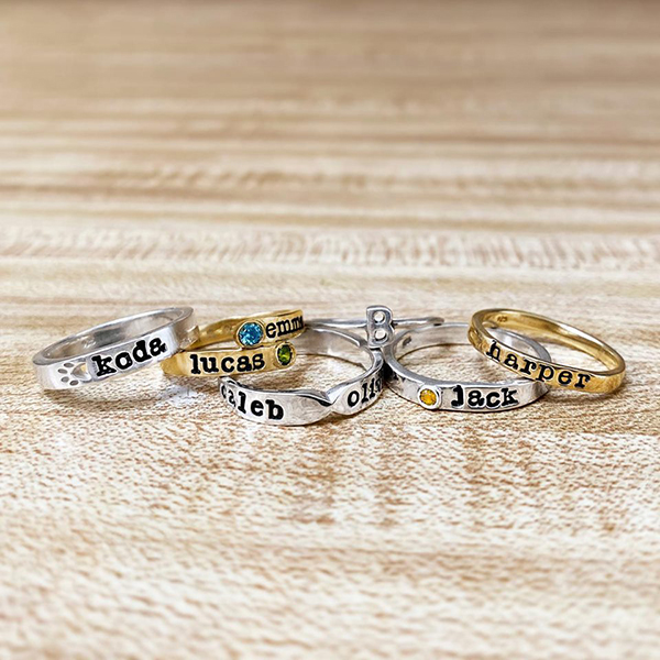 Silver Name Rings: Why Should You Get One?