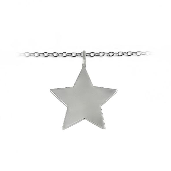 Customized Star Silver Jewelry - Slate & Tell