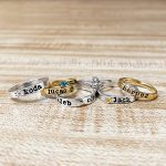 Sterling-Silver-Stacking-Name-Rings