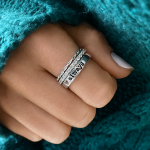Ready to Ship Gold and Sterling Silver Stackable Rings