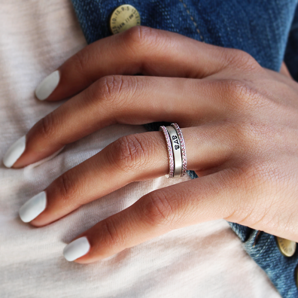 Personalized Stacking Ring Collection