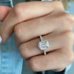 secret halo engagement ring
