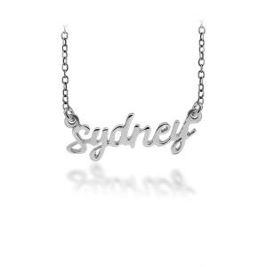 Personalized Script Necklace