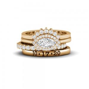 Eye Love It Diamond Ring Stack