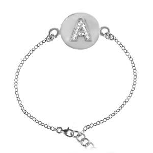 Alphabet Stone Bracelet A
