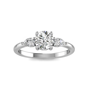 Cherish Three Stone Ring