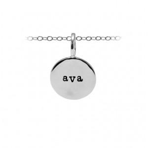Medium Personalized  Round Charm