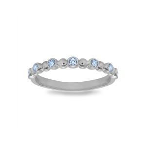 Alternating Multi Stone Ring