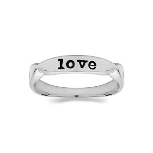 Personalized Pinched Ring