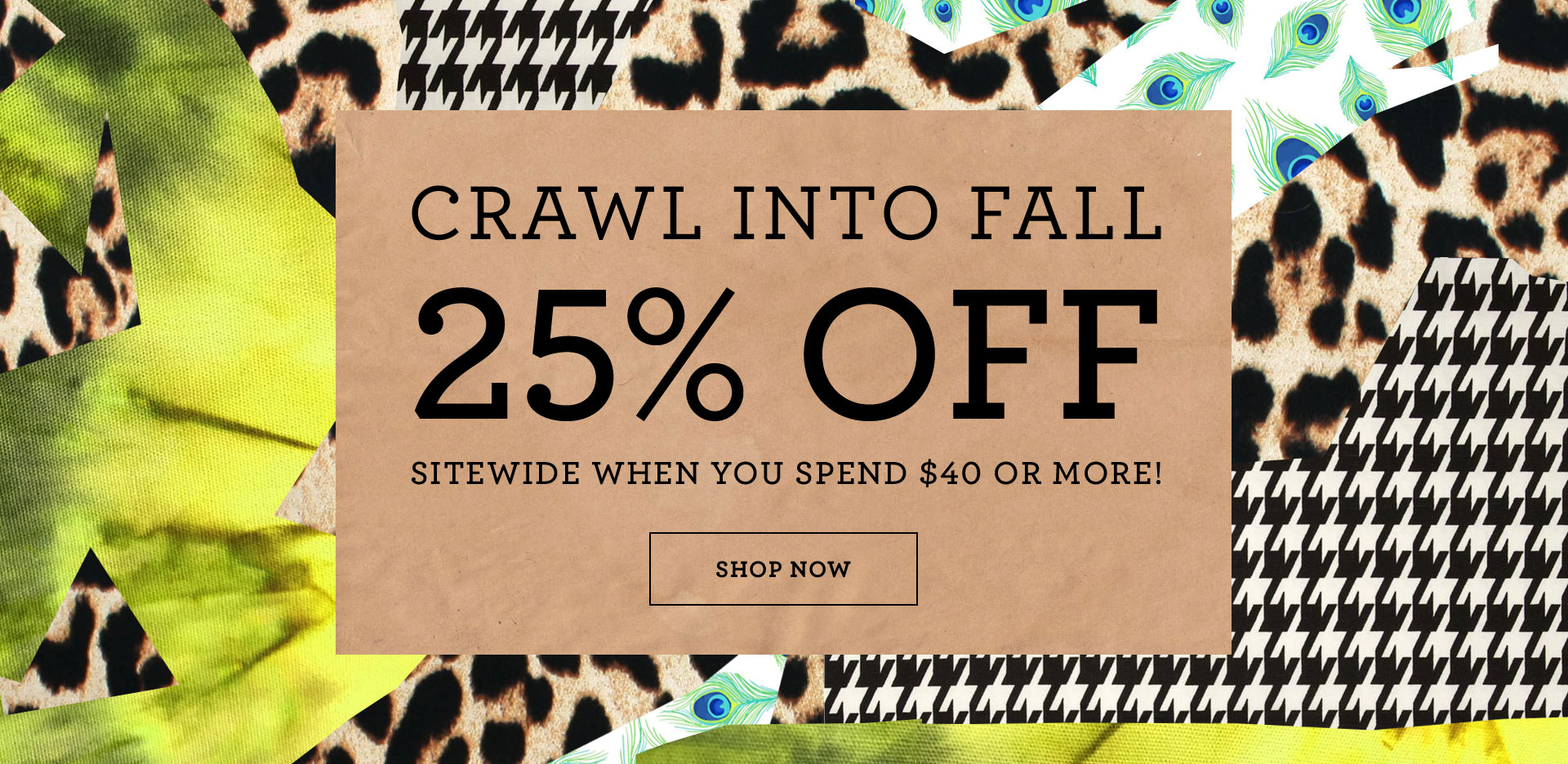 Crwal into Fall