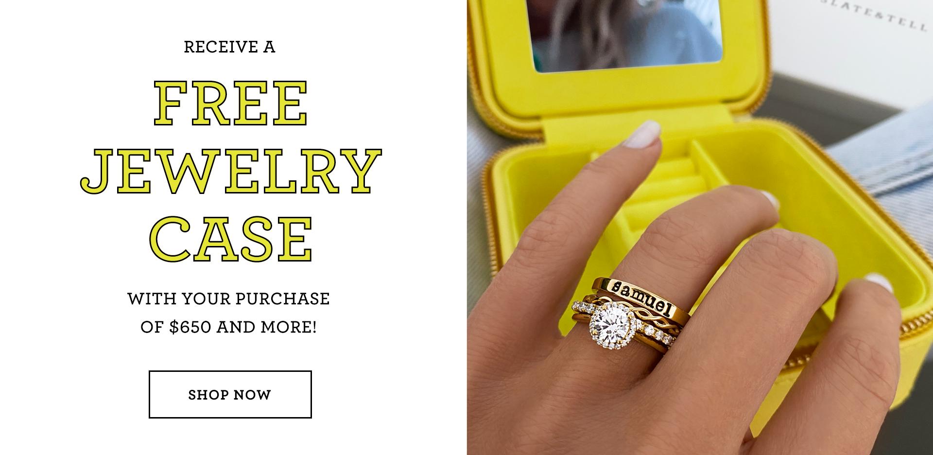 Free Jewelry Case